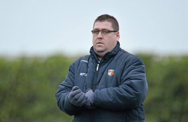 PJ O'Mullan has stepped down as Antrim hurling manager