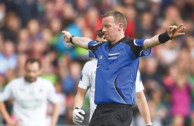 Aidan O'Shea's dive against Fermanagh earned Mayo an important penalty