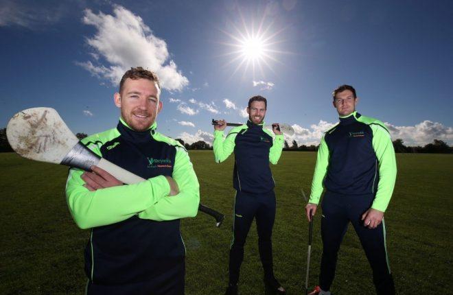 Richie Hogan, Neil McManus and Seamus Callanan